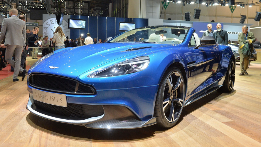 Aston Martin Vanquish S Volante looks drop dead gorgeous at Geneva