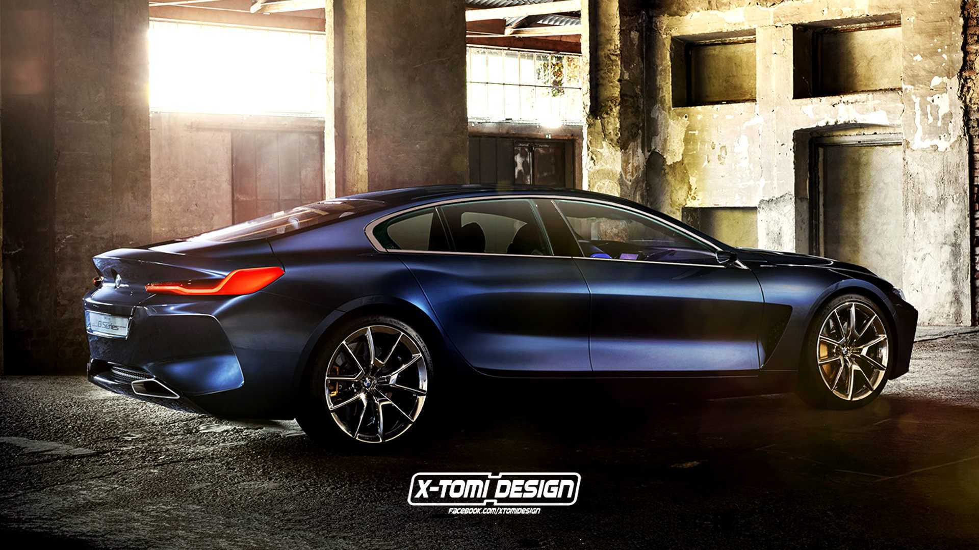 bmw 8 series gran coupe shooting brake and pickup imagined. Black Bedroom Furniture Sets. Home Design Ideas