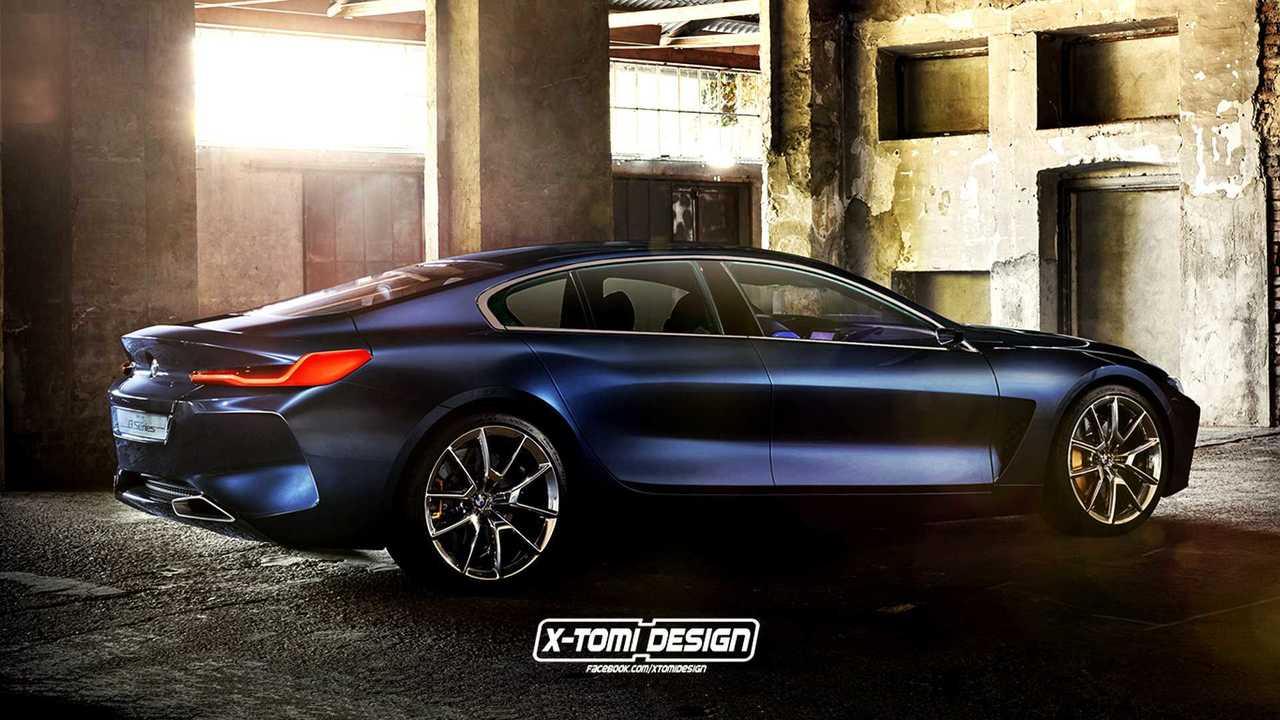 BMW 8 Series Gran Coupe render