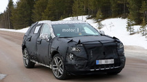 2019 Cadillac XT3 spy photo