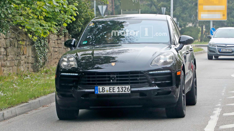 Porsche Macan Refresh Spy Pics