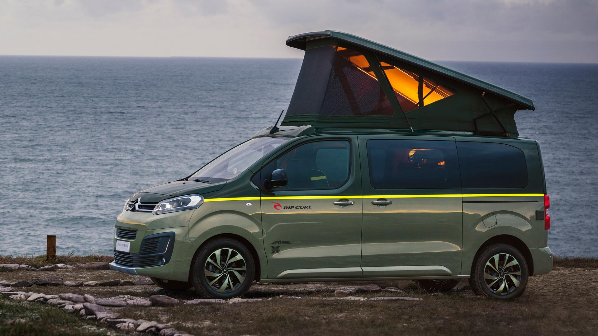 citroen spacetourer rip curl concept surf y aventura. Black Bedroom Furniture Sets. Home Design Ideas