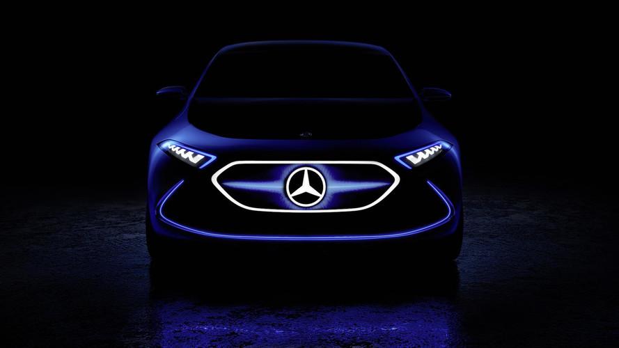 Mercedes Teases Electric EQ A Concept Ahead Of Frankfurt Debut