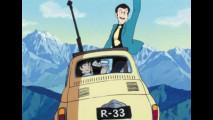 La nuova Fiat 500 di Lupin