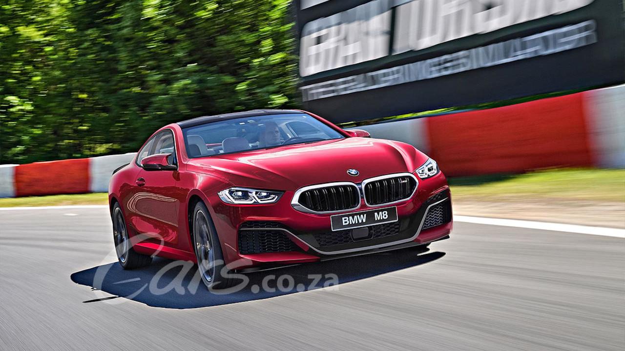 BMW M8 Coupé render