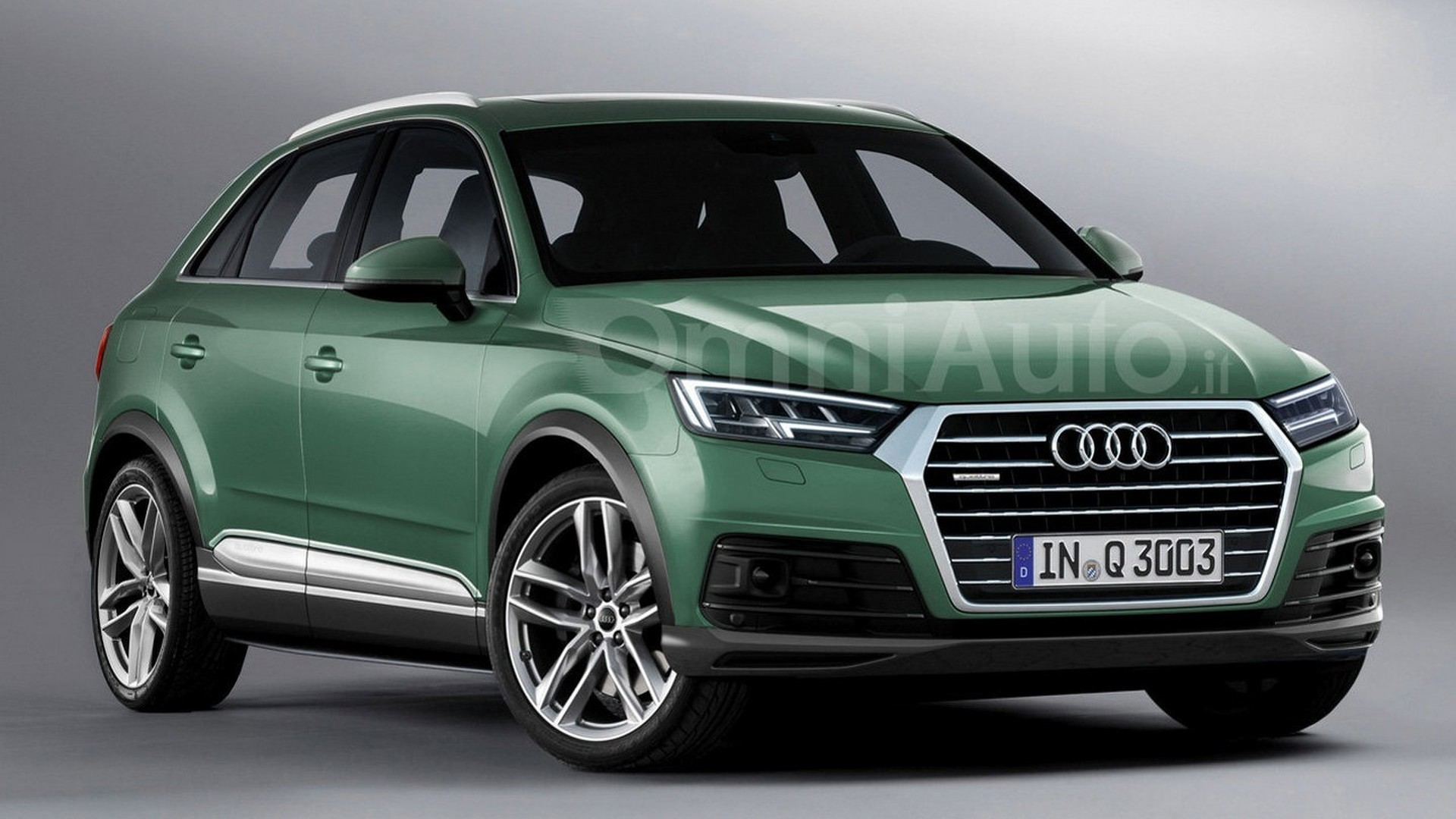 2018 Audi Q3 Review Expected Date Of Arrival >> 2018 Audi Q3 Render Points Towards Predictable Design Evolution