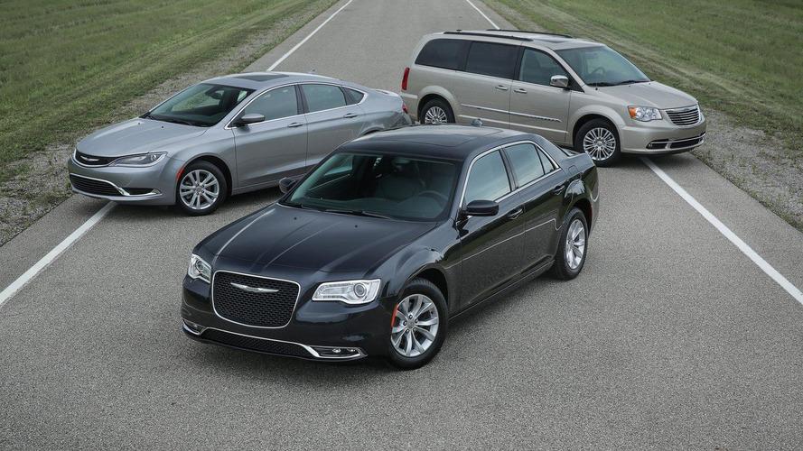 2016 Chrysler lineup introduced