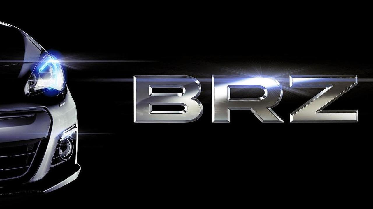 Subaru BRZ teaser image - 07.11.2011