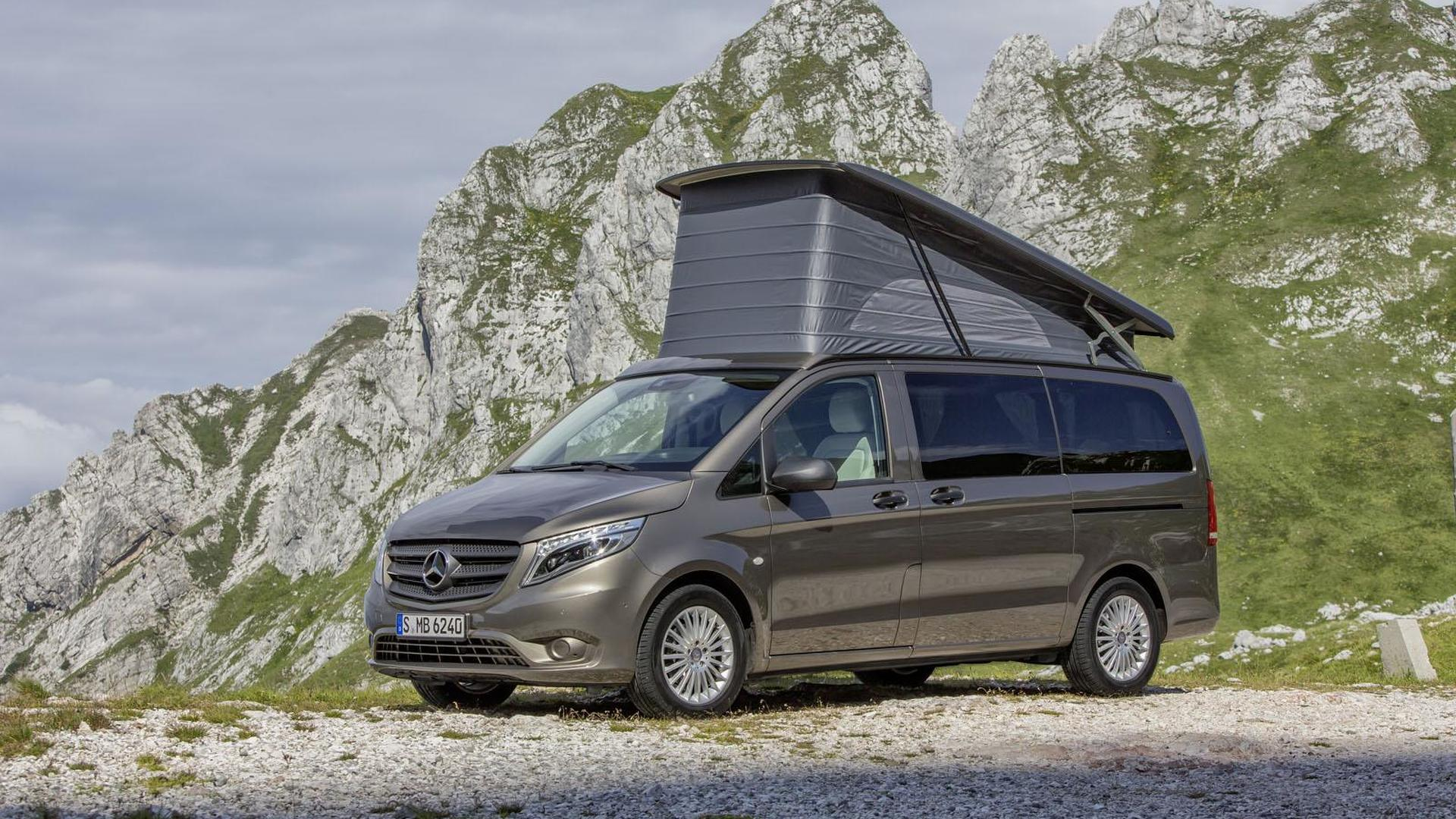 Assez 2015 Mercedes Marco Polo Activity unveiled, based on the Vito YO07