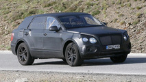 2016 Bentley SUV spy photo