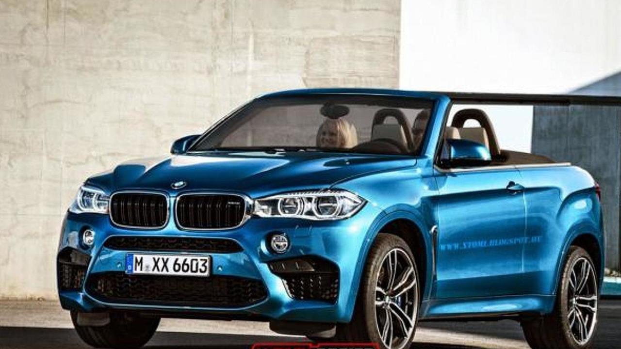 BMW X6 M convertible rendering / X-Tomi Design