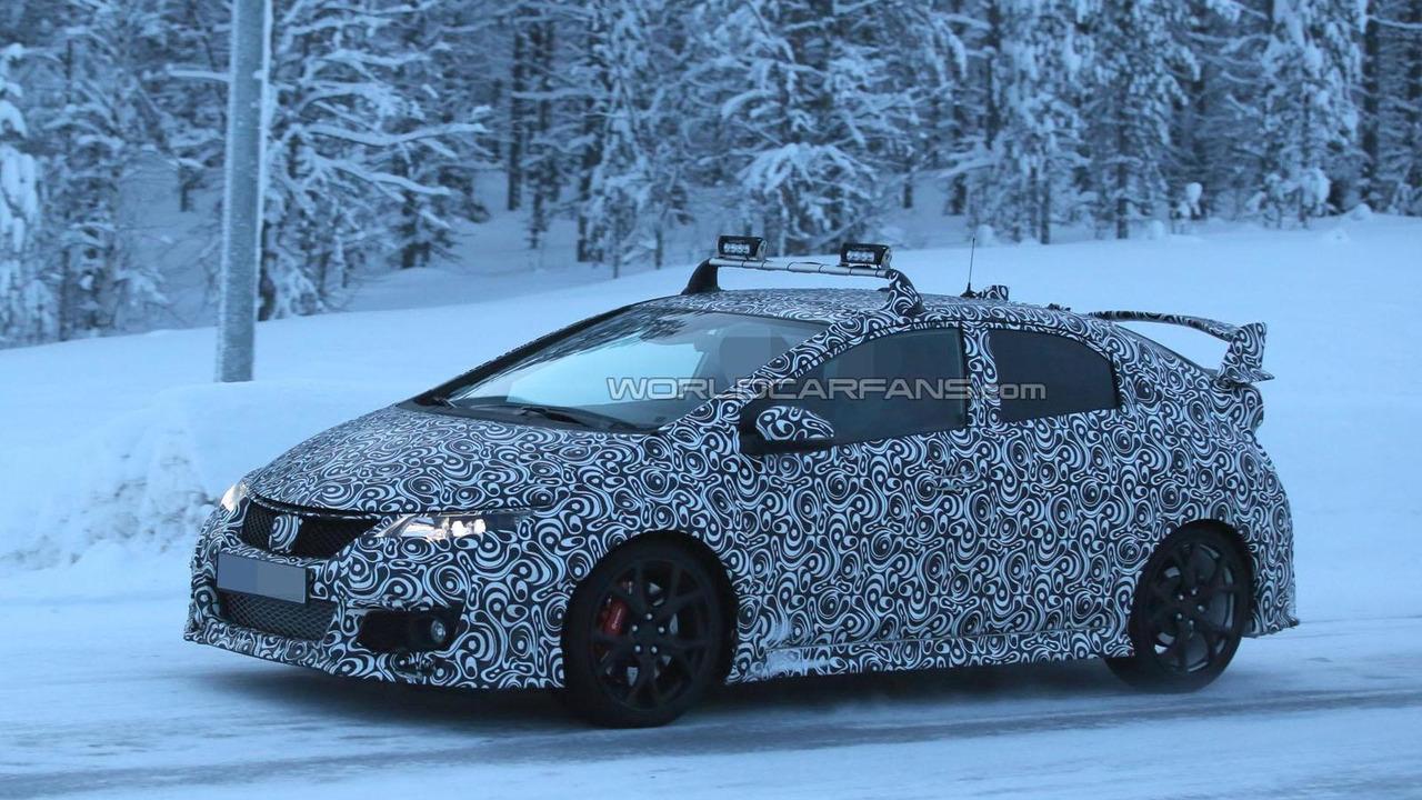 2015 Honda Civic Type R spy photo