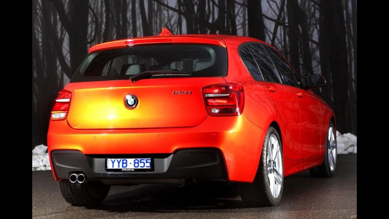 BMW 125i M Sport de 218 cv chega por R$ 154.950