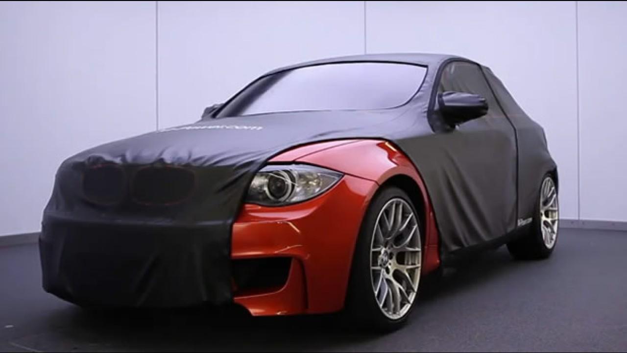 Vídeo: BMW Série 1 M Coupé mostra suas garras