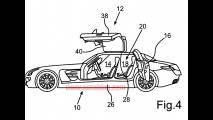 Mercedes-Benz registra desenhos de um possível SLS AMG de quatro portas