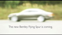 Vídeo: Primeiro teaser do Novo Bentley Flying Spur