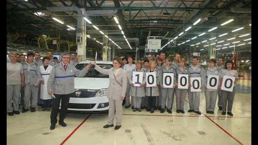 Logan atinge marca de 1 milhão de unidades produzidas na Europa
