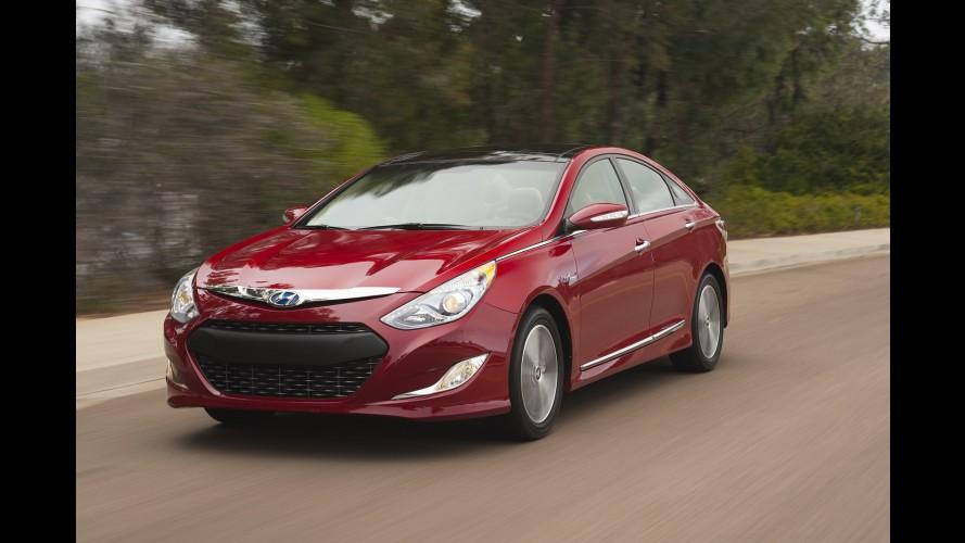 Hyundai Sonata Hybrid 2012 começa a ser vendido nos EUA pelo equivalente a R$ 49.400