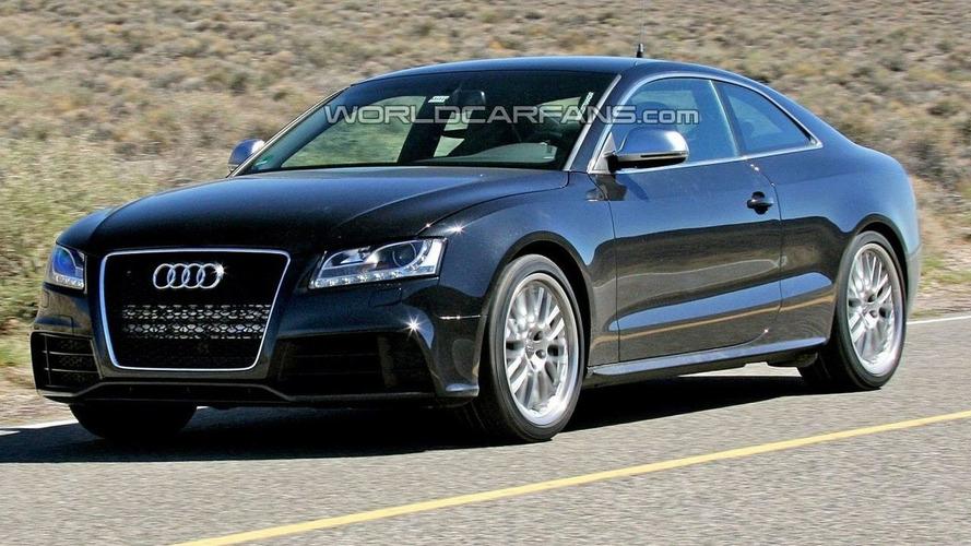 Audi RS5 Headed for 2009 Detroit Motor Show