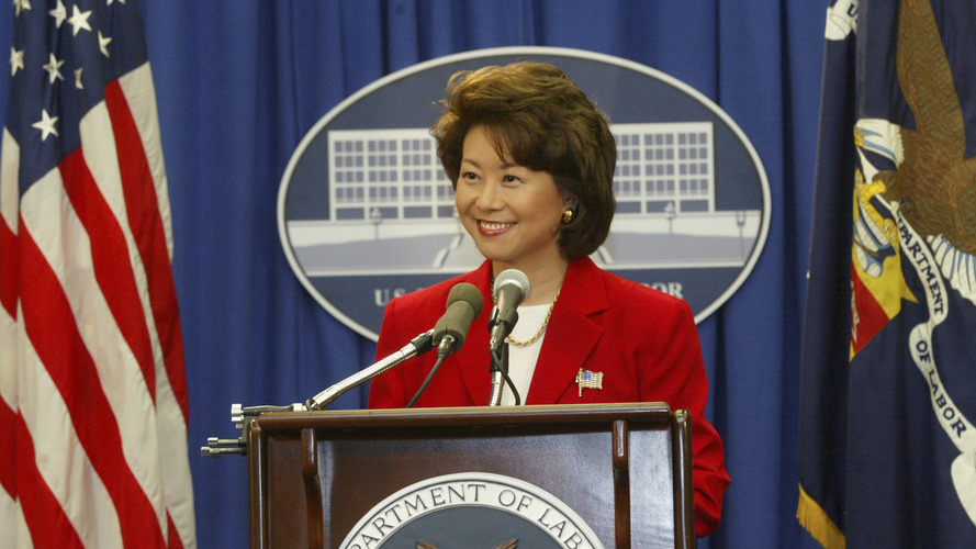 Elaine Chao becomes new U.S. Secretary of Transportation