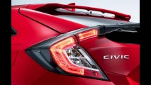 Honda Civic hatch 2017: versão europeia estreia com motor 1.0 3-cilindros turbo