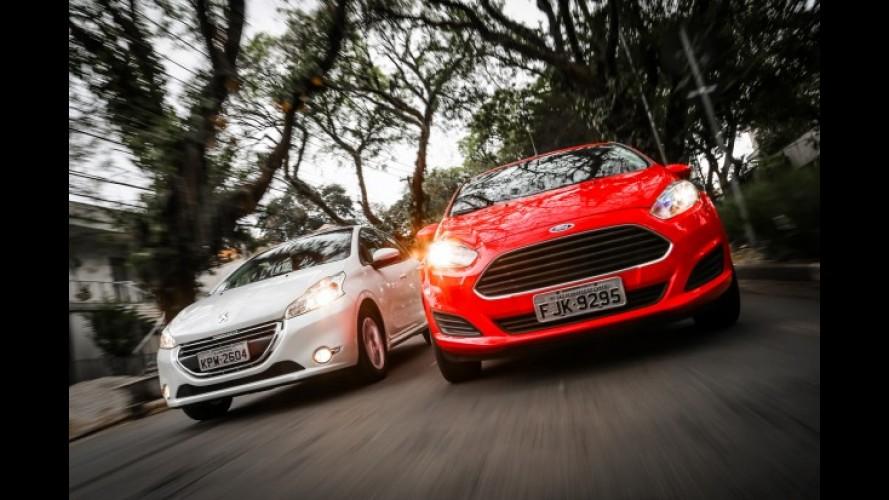 Veja a lista com os carros preferidos por faixa de motorização no Brasil