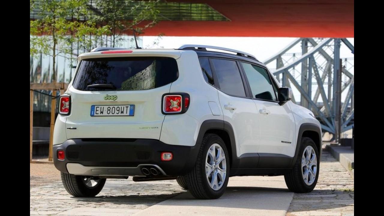 Com 5.400 unidades em junho, Renegade leva Jeep a recorde de vendas na Europa