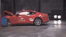 Ford Mustang Avrupa versiyonu - Euro NCAP çarpışma testi