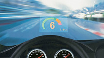 BMW M6 head-up display