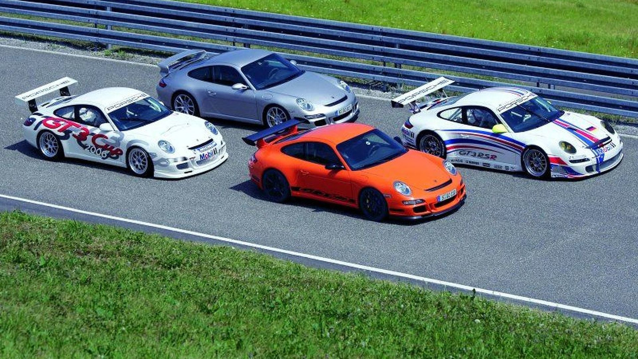 911 GT3 Cup, 911 GT3, 911 GT3 RS, 911 GT3 RSR