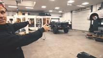 Jon Olsson'un Mercedes-Benz G500 cabriosu