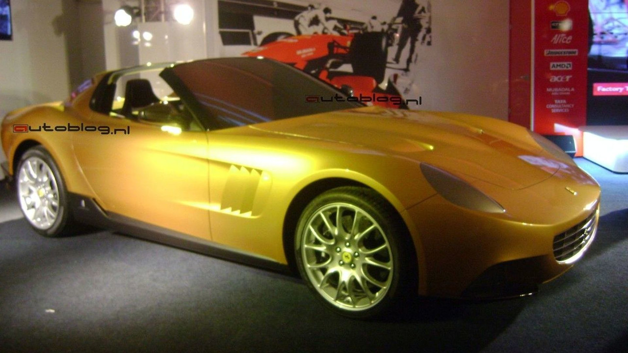 The Golden Ferrari revival by Pininfarina