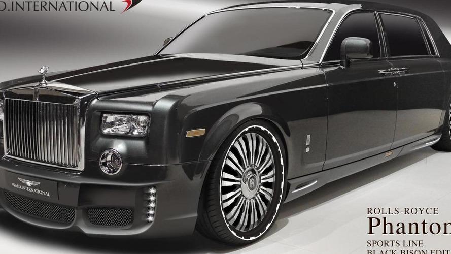 Rolls Royce Phantom tuning program by Wald previewed