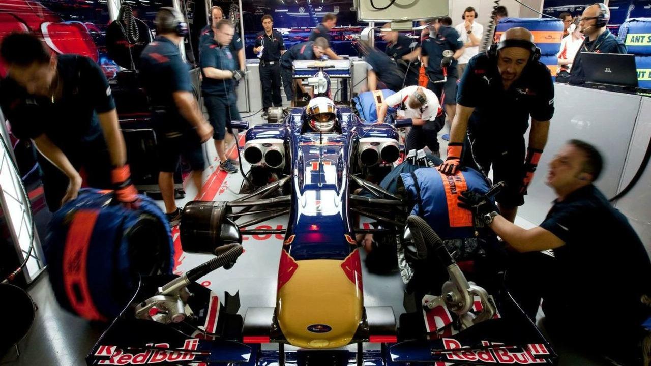 Jaime Alguersuari, Scuderia Toro Rosso, Singapore Grand Prix, 25.09.2009