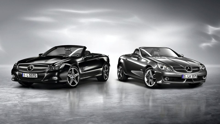 Mercedes-Benz SL Night Edition and SLK Grand Edition Released