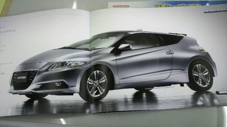 2010 Honda CR-Z Official Japanese Brochure Leaked