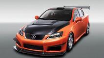 Lexus IS F Club Circuit Sports Racer 18.01.2011