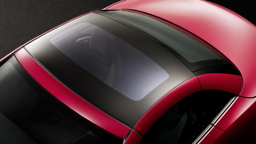2012 Mercedes SLK teased - Features an electrochromic glass roof