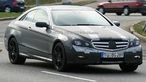 Mercedes E-Class Coupe spy photos