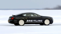 Bentley Continental GT Smashes World Ice Speed Record