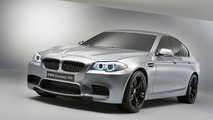 2012 BMW F10 M5 on the test track [video]