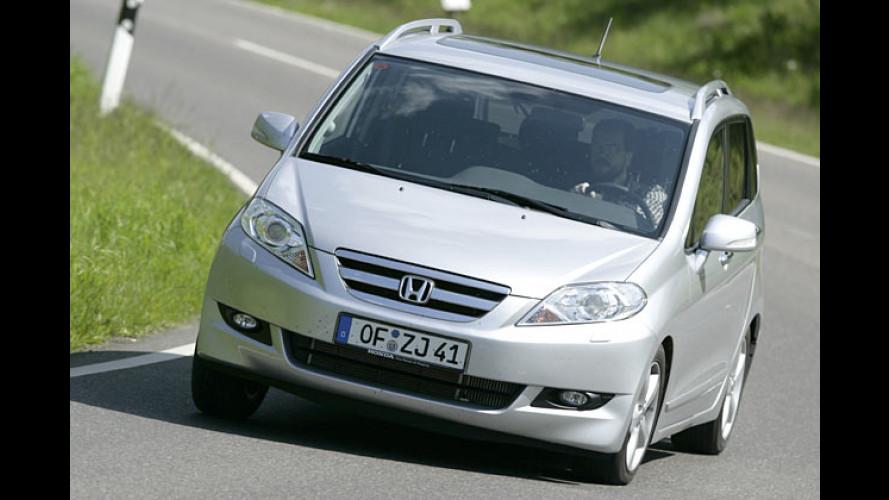 Honda FR-V 2.2i-CTDi: Kräftiger Diesel für starken Minivan