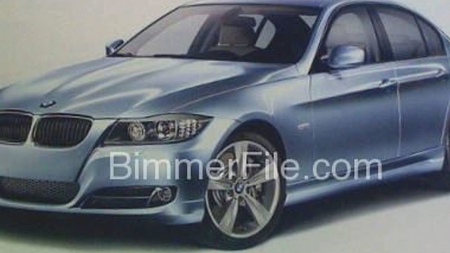 2009 BMW 3-Series Facelift Brochure Scans Leaked