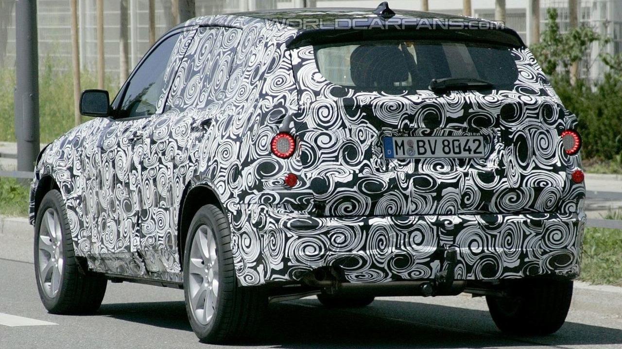 2011 BMW X3 Prototype