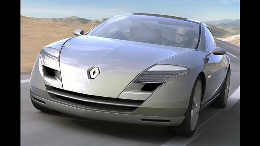 Renault Fluence: Designstudie eines Oberklasse-Coupés