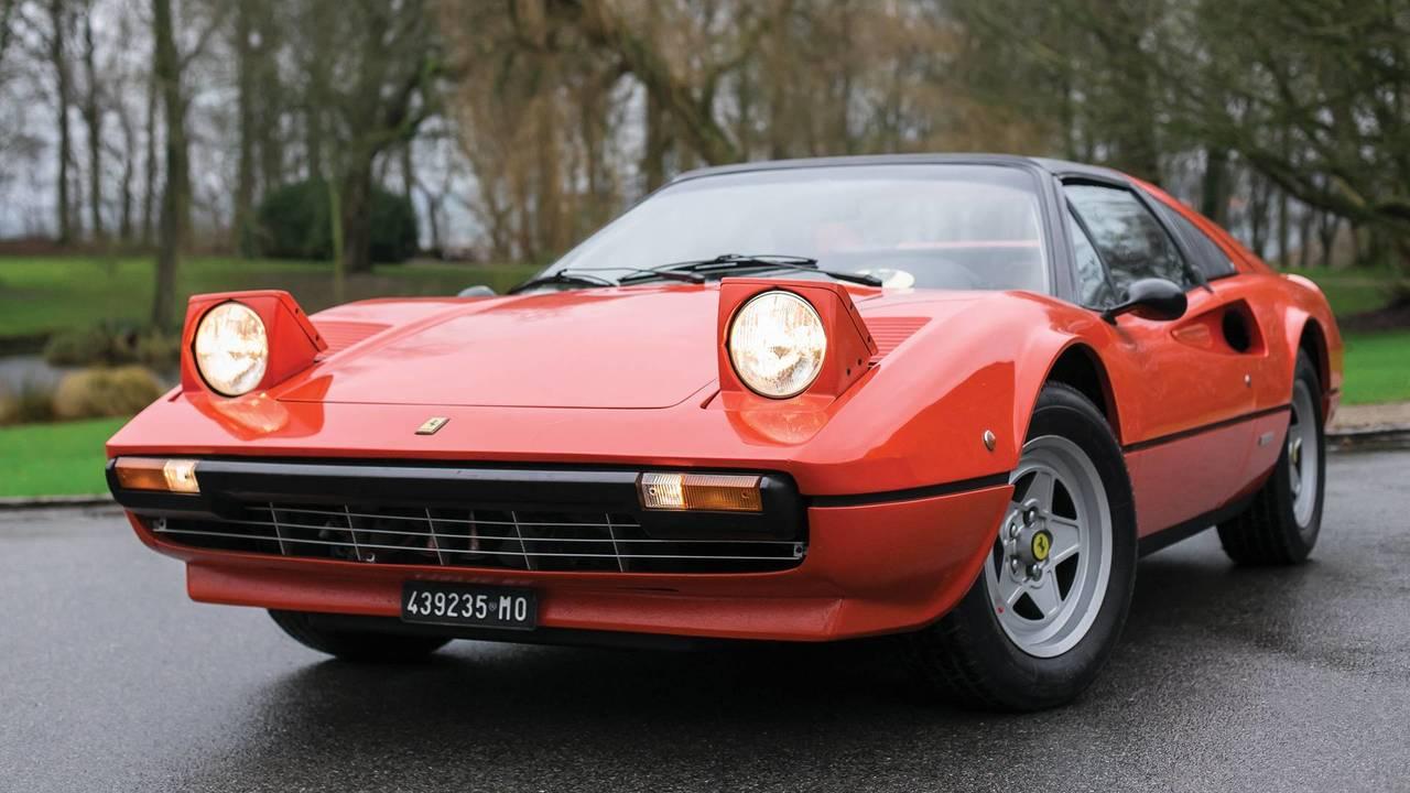Ferrari 308 GTS, antiguo coche de Gilles Villeneuve