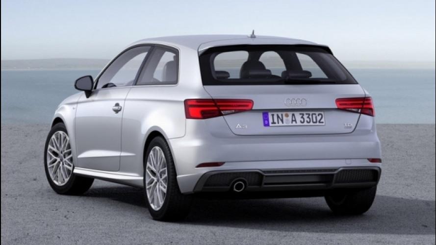 Audi A3, arriva il 2.0 TDI da 184 CV