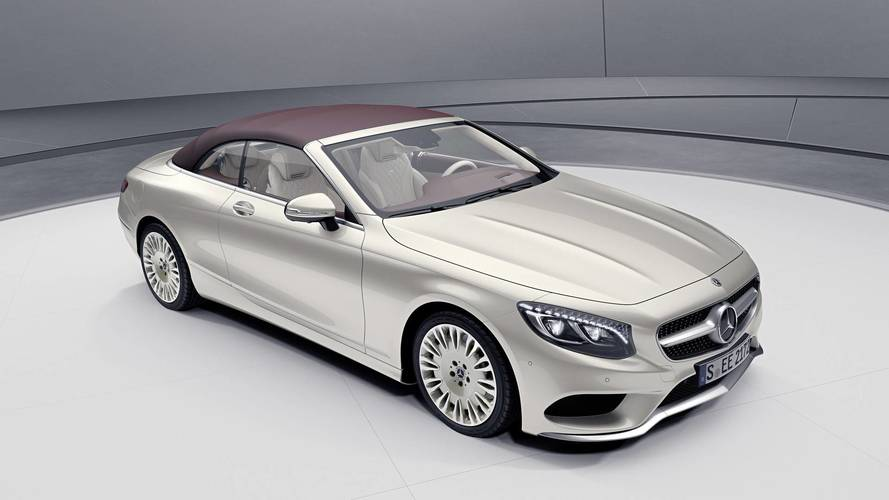 Mercedes S-Class Coupe, Convertible Exclusive Edition