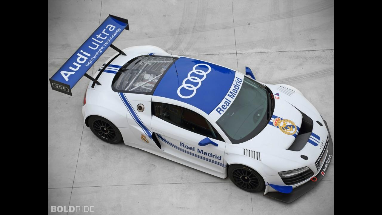 Audi R8 LMS Real Madrid Edition