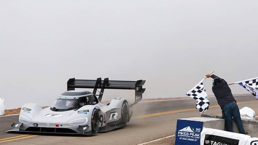 Videón a VW I.D. R rekordot jelentő Pikes Peak-i köre